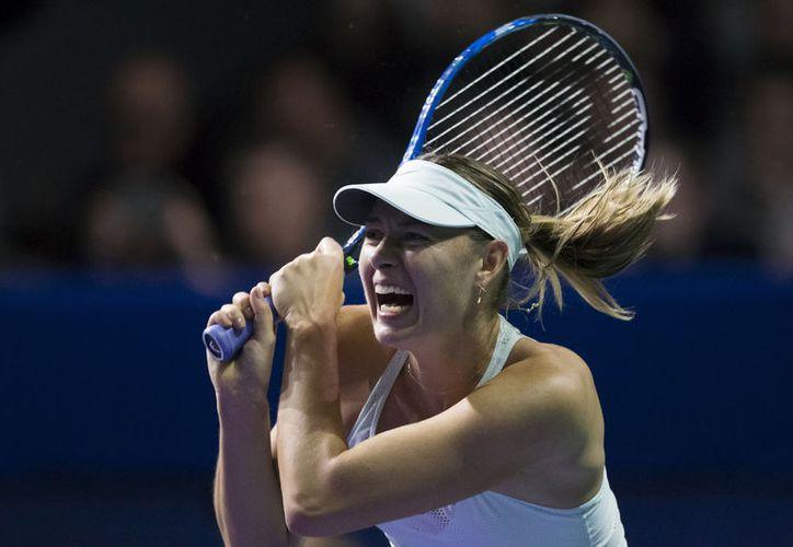 Sharapova cayó en el torneo ante Magdalena Rybarikov. (Foto: AP)