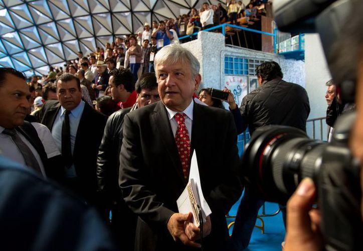 López Obrador dio a conocer a través de Twitter los planes de Morena para el 1 de diciembre. (Archivo Notimex)