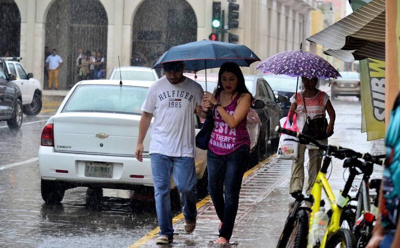 Pronostican tormentas fuertes para este fin de semana en Yucatán