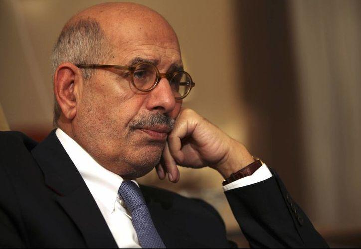 ElBaradei es ganador del premio Nobel de la paz y exdirector de la entidad de la ONU a cargo de la supervisión de asuntos nucleares. (Agencias)