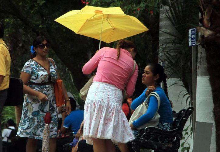Se esperan algunas lluvias este domingo. (José Acosta/SIPSE)
