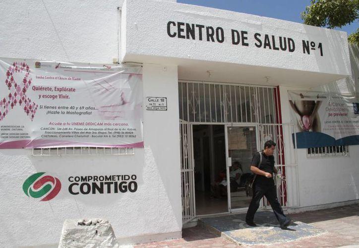 En total 75 centros de salud del Estado serán beneficiados. (Tomás Álvarez/SIPSE)