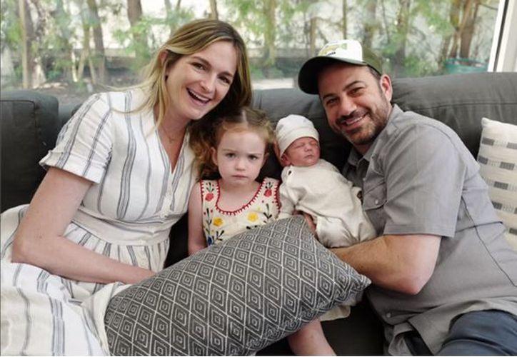 Se trata del segundo hijo de Kimmel y su esposa, quienes también tienen una niña. (Foto: Internet)
