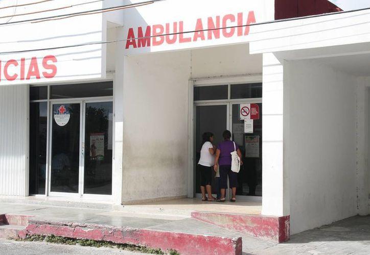El menor fue ingresado a la clínica del Centro de Salud. (Julián Miranda/SIPSE)