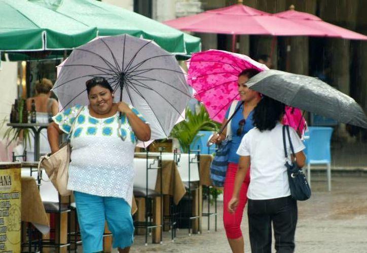 Este fin de semana podría haber lluvias ligeras en el norte de Yucatán. (SIPSE)