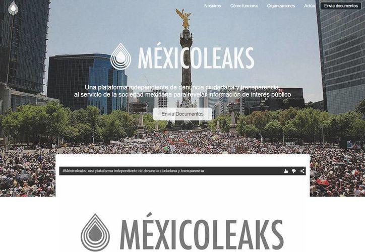 Todas las denuncias que se reciban en MéxicoLeak serán verificadas. (mexicoleaks.mx)