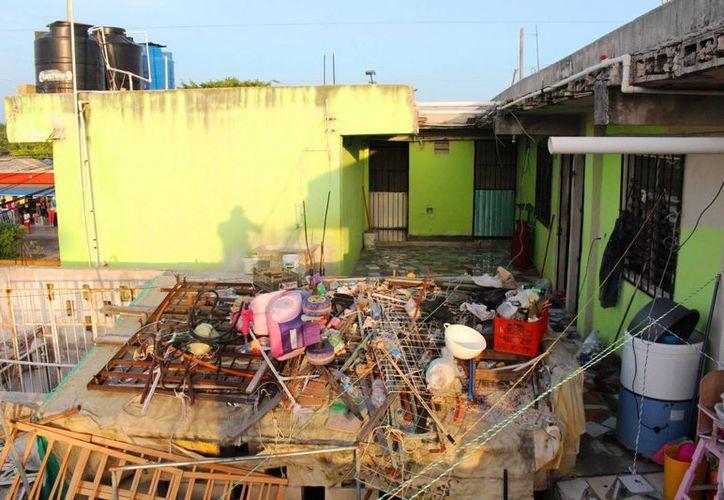 Este fin de semana se realizarán nuevamente trabajos de descacharrización en Playa del Carmen.  (Daniel Pacheco/SIPSE)