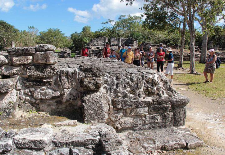 San Gervasio es el sitio arqueológico más importante de Cozumel. (Gustavo Villegas/SIPSE)