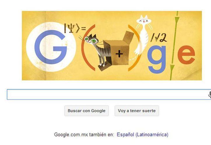 El famoso gato de Erwin Schrödinger representa una de sus ecuaciones sobre el funcionamiento de las partículas. (Captura de pantalla)