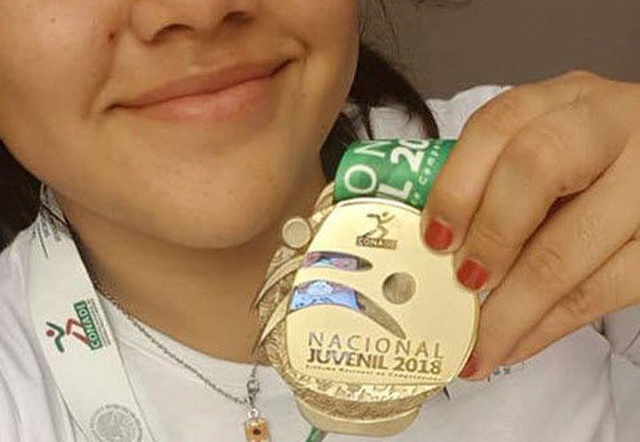 Fátima tiene un nuevo objetivo en la mente y es la medalla en los Juegos Panamericanos Universitarios, que se celebrarán el próximo mes en Brasil. (Miguel Maldonado/SIPSE)