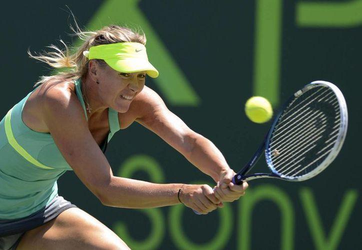 La tenista rusa nunca ha ganado el torneo de Miami. (Foto: EFE)
