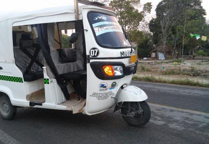 El Sindicato de Mototaxis en Carrillo, adherido a la Fensoc, solicitó a las autoridades regular la asignación de tarjetones para circular.