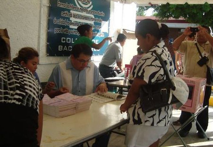 Durante el período de campañas electorales no hubo anuncios en lengua maya en el Distrito 01. (Octavio Martínez/SIPSE)