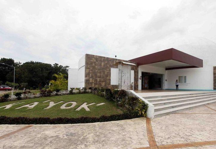 El Planetario Ka' Yok' realizará diversas actividades con el fin de festejar su tercer aniversario. (Redacción/SIPSE)