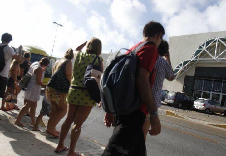 será un año histórico para Cancún en cuanto a la afluencia de turistas. (Renán Moguel/SIPSE)