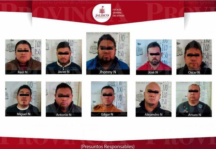 Entre los 10 detenidos en Guadalajara el domingo pasado, se identificó al líder de la banda, que operaba también en Q. Roo. (provincia.com.mx)