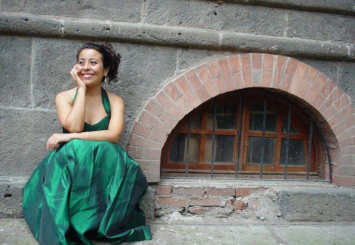 La soprano Laura Chuc cerrará el año en Cancún con un espectáculo de cuatro tiempos. (Redacción/SIPSE)