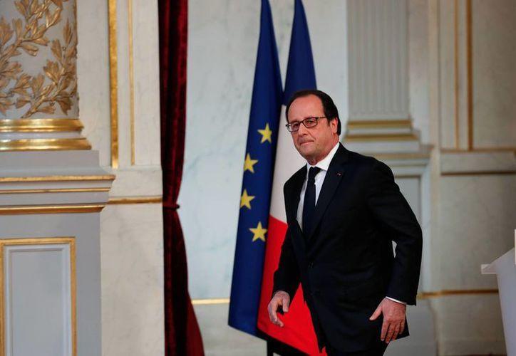Los comentarios de Hollande fueron una respuesta a recientes ataques verbales de Trump contra Francia. (Agencias)