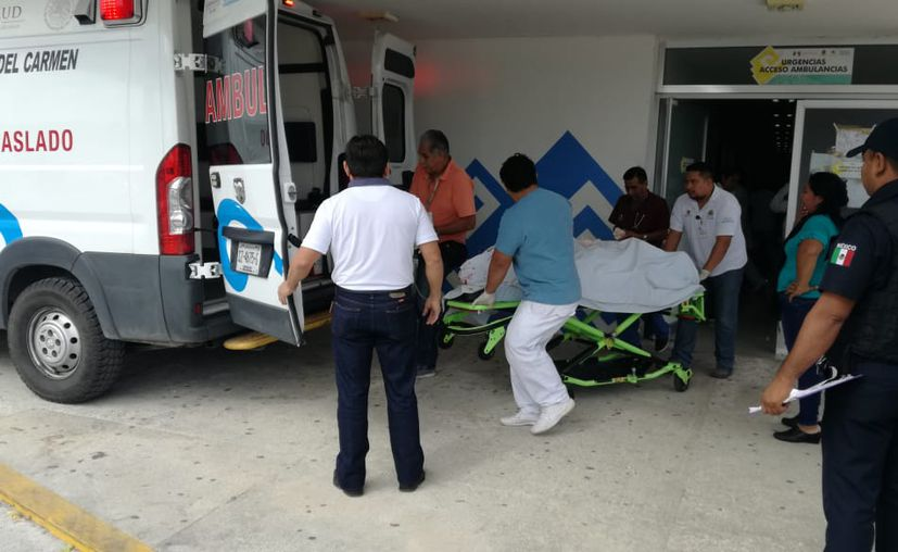 El lesionado fue ingresado al Hospital General. (Redacción/SIPSE)