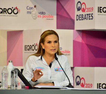 Ganamos el debate y ganaremos la elección: Lili Campos