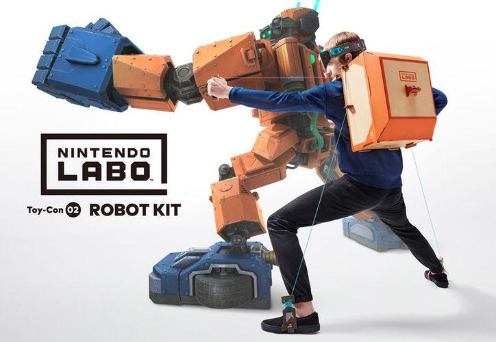 El reto es echar a andar tu imaginación e involucrarse en el proceso de elaboración de este nuevo sistema de juego. (Nintendo)