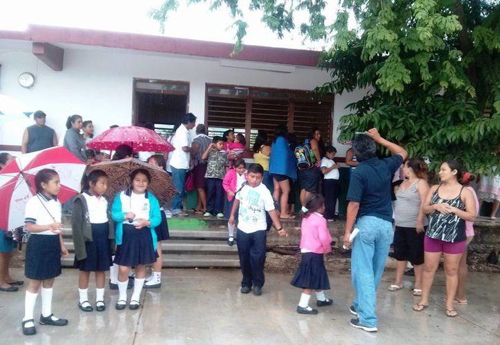 Más de 7 mil estudiantes regresarán hoy a la escuela. (Rossy López/SIPSE)