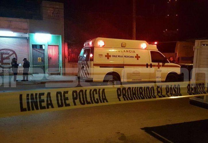 El lugar fue acordonado por los elementos policíacos. (Inspector Nocturno)
