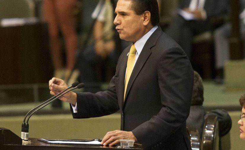 Silvano Aureoles rindió protesta como presidente de la Cámara de Diputados para el tercer año de la actual legislatura. (Notimex/Foto de archivo)