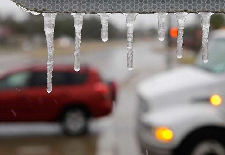 Las bajas temperaturas de hasta menos 12 grados centígrados . (AP)