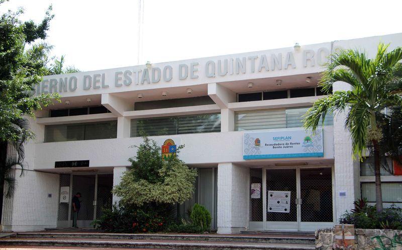 Se instaló una casilla en el edifico de la representación del Gobierno del Estado. (Paola Chiomante/SIPSE)