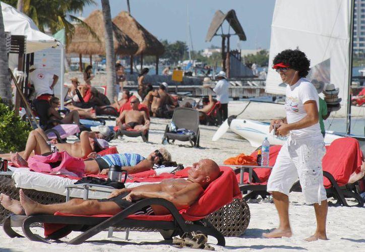 Para promover la llegada de más visitantes sudamericanos, se participará en diversas ferias turísticas. (Jesús Tijerina/SIPSE)