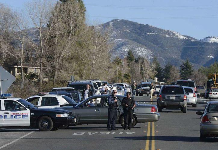 Hace tres días un ex policía asesino a 3 personas para luego suicidare en Los Ángeles. (EFE)