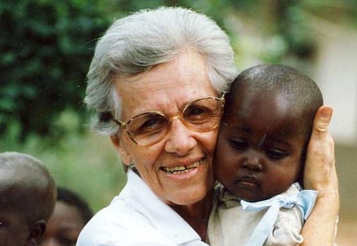 Sor Olga Raschietti una de las monjas que fue asesinada en un convento de la localidad de Kamenge, en Burundi. (AFP/telegraph.co.uk)
