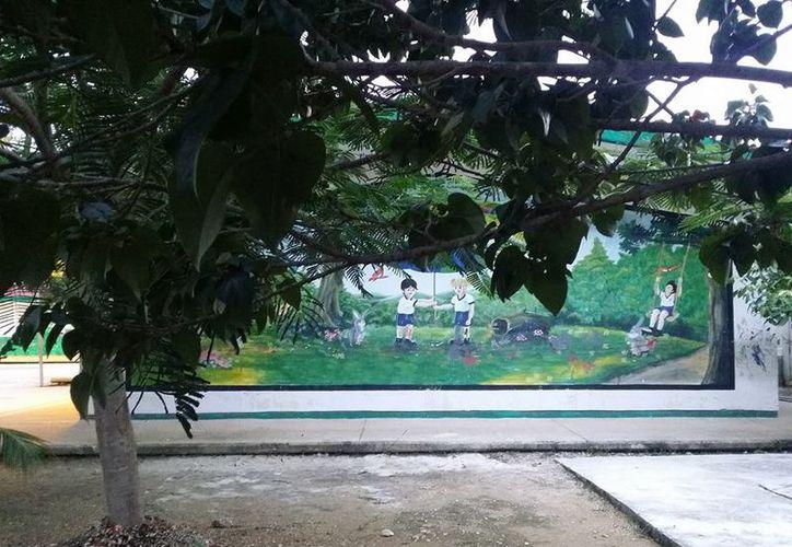 """Al pequeño le cayó una estructura de metal mientras se encontraba en un jardín del kínder """"Montes de Oca"""". (Foto: Cortesía)"""
