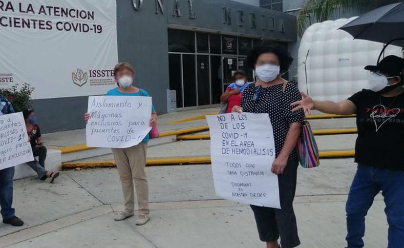 Piden atención especial a pacientes con hemodiálisis. (Novedades Yucatán)