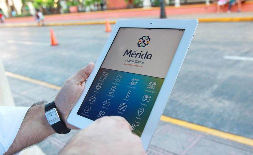 Una de las funciones de la nueva aplicación del Ayuntamiento de Mérida, 'Mérida Móvil', será la de facilitar reportes para la recolección de animales muertos, basura, limpieza de parques y jardines, etc. (Foto cortesía del Gobierno de Mérida)
