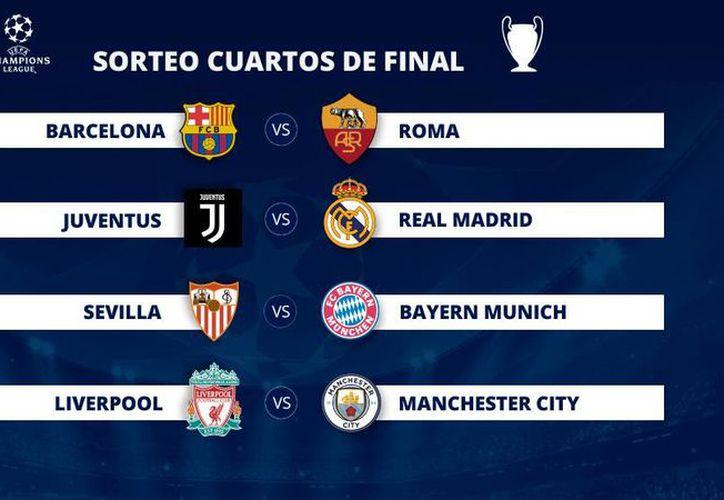 Fortuna dispar para los equipos españoles en el sorteo de cuartos de final de la Champions League. (Pablo González/LV)