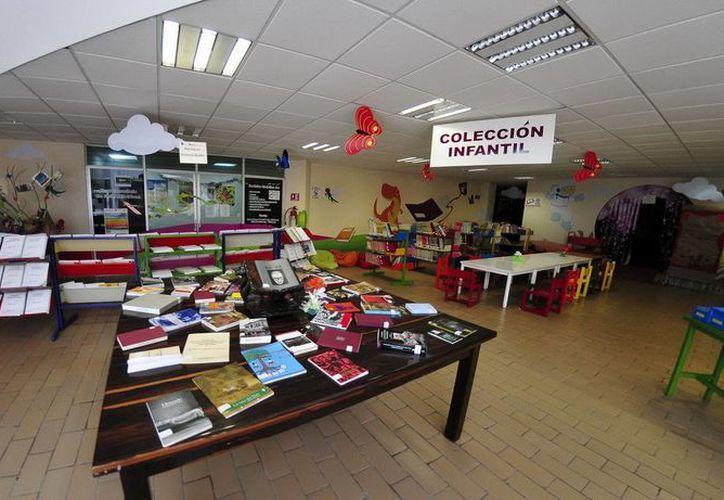"""Los talleres se llevarán a cabo del 22 al 25 de septiembre, en la Biblioteca Pública """"Lic. Javier Rojo Gómez"""". (Redacción/SIPSE)"""