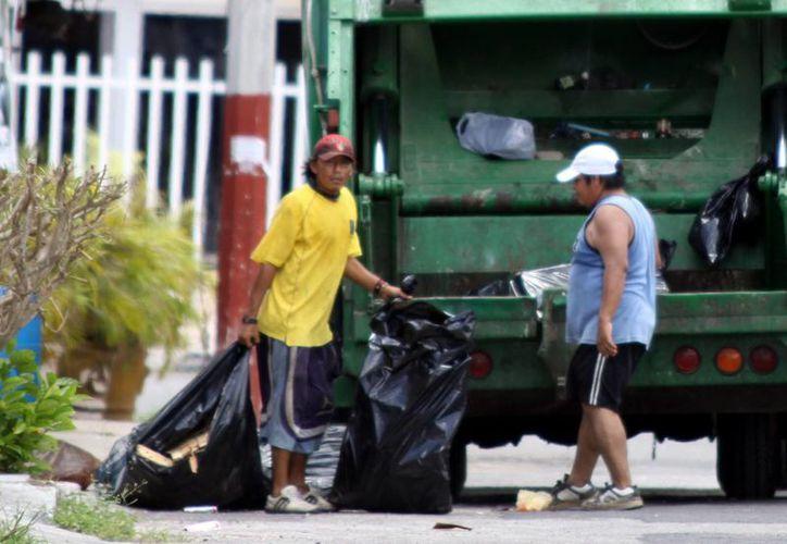 """La separación de orgánicos e inorgánicos puede """"mejorar"""" la vida del relleno sanitario, ya que la basura se compacta mejor y ocupa menos espacios. (Milenio Novedades)"""