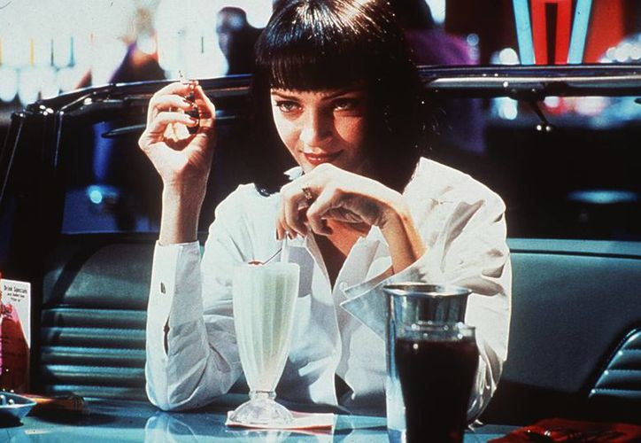 La actriz Uma Thurman en una secuencia de la película 'Pulp Fiction', del director Quentin Tarantino. (EFE/Archivo)