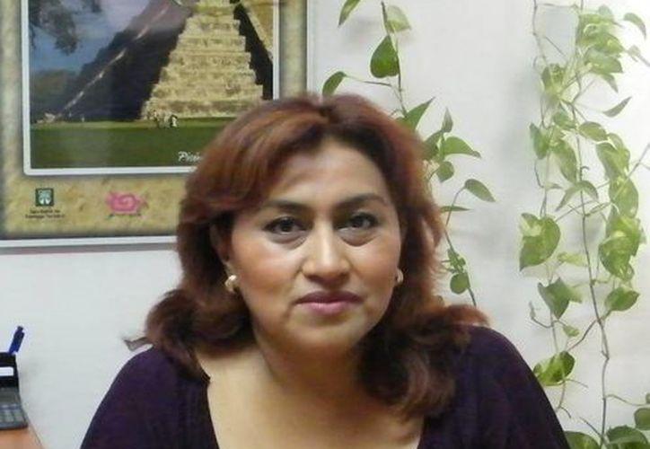 Rosa María Sánchez Cordero, presidenta de la Aaprotuy, afirma que en la actualidad se ofrecen tarifas atractivas a los visitantes de los destinos turísticos.(Milenio Novedades)