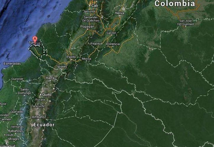 De los 11 heridos por el ataque con granada contra infantes de Marina en Tumaco, sólo cinco siguen hospitalizados por heridas menores. (Google Maps)
