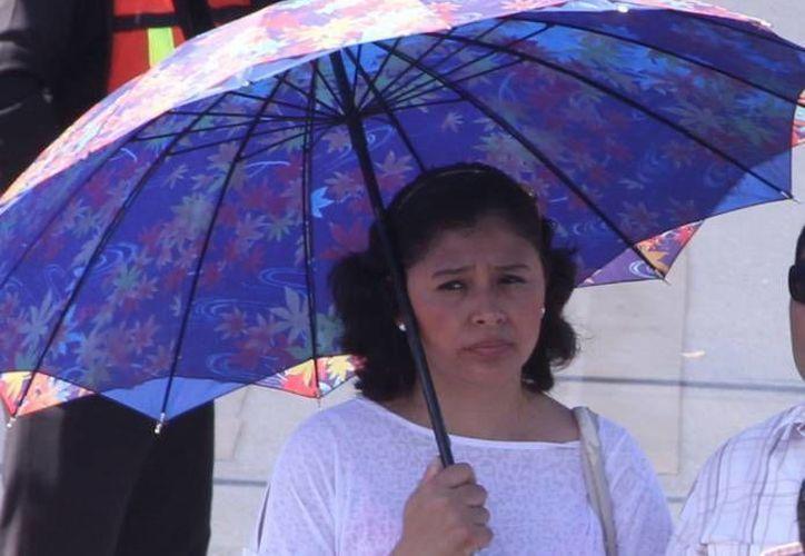 Un poderoso anticiclón es una de las causas por las que el calor en Yucatán no solo no desciende sino que se pronostica que se incrementará en los próximos días. (SIPSE)