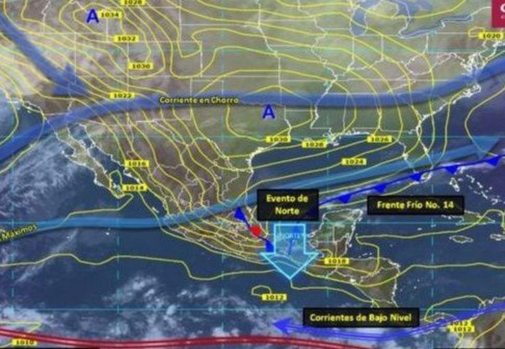 Se esperan lluvias con intervalos de chubascos (5.1 a 25 mm) en zonas de: Sonora, Nuevo León, Tamaulipas, Michoacán y Guerrero. (Debate)