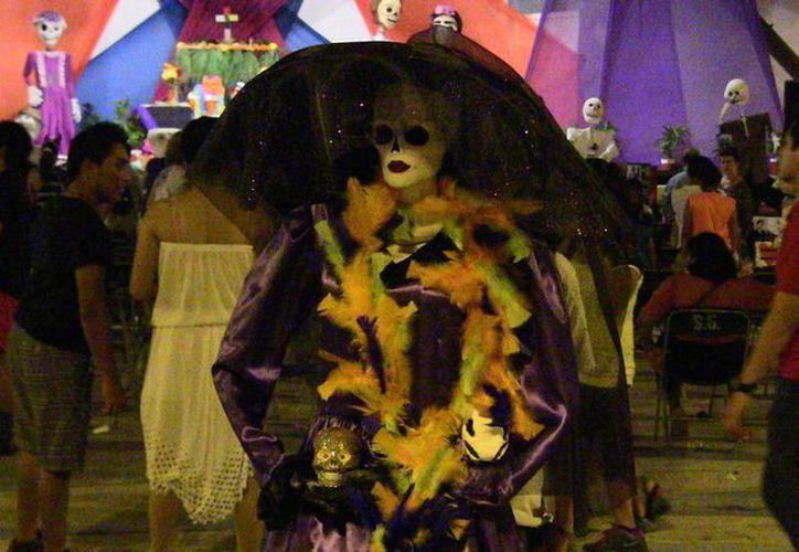 Del 30 de octubre al primero de noviembre, Cancún será sede del quinto Festival de Día de Muertos. (Redacción/SIPSE)