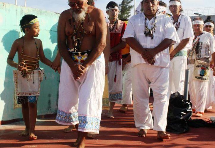El ritual maya para recibir el verano será este año en un domicilio particular. (Octavio Martínez/SIPSE)