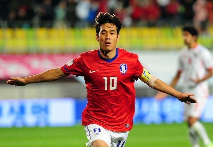 Park Chu-young, del Watford de la segunda división inglesa, será el principal referente de ataque de la selección surcoreana. (ilpallonaro.com)