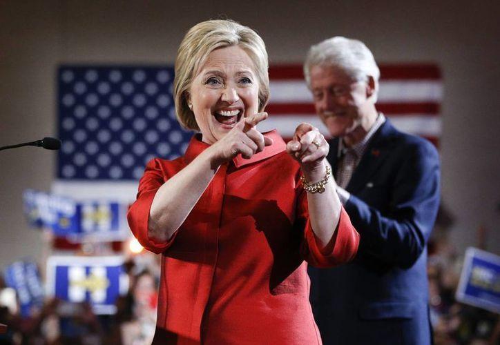 Hillary Clinton obtuvo más votos que Bernie Sanders en  las asambleas comunitarias de Nevada. (AP)