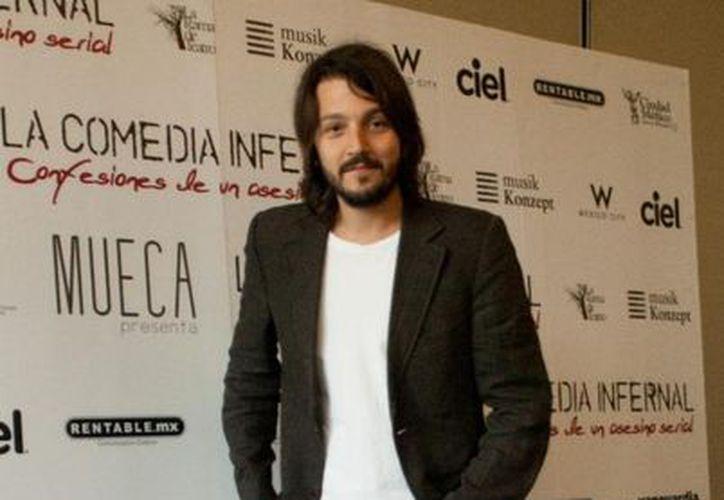 La casa productora de Gael García y Diego Luna (imagen) grabará en Yucatán. (Agencias)