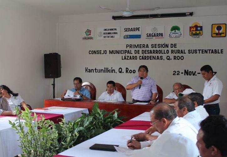 El Consejo realizó su primera sesión de trabajo, ante autoridades municipales y estatales. . (Raúl Balam/SIPSE)